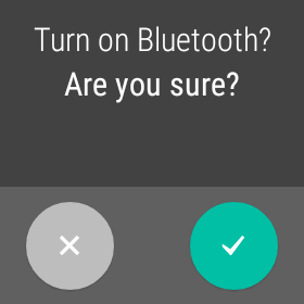 Turn Bluetooth on.